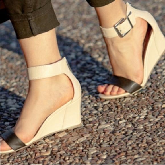 Open Toe Ankle Wedges   Poshmark